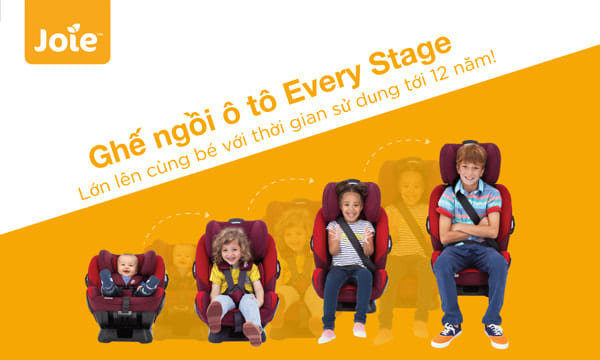 Ghế ngồi ô tô trẻ em Joie Every Stages