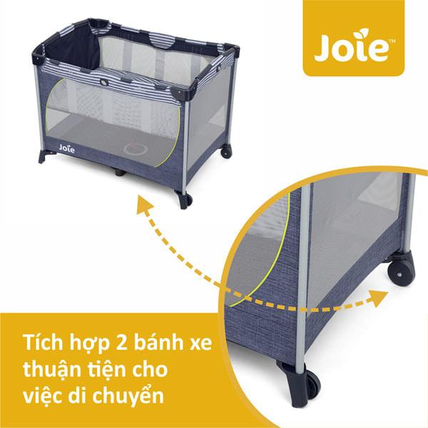 Giường cũi em bé Joie Commuter Change (4)