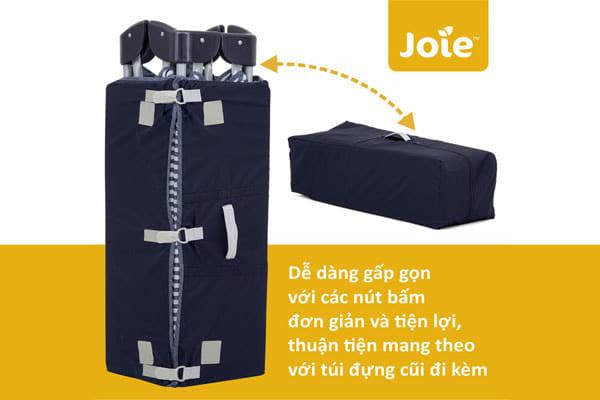 Giường cũi em bé Joie Commuter Change (5)