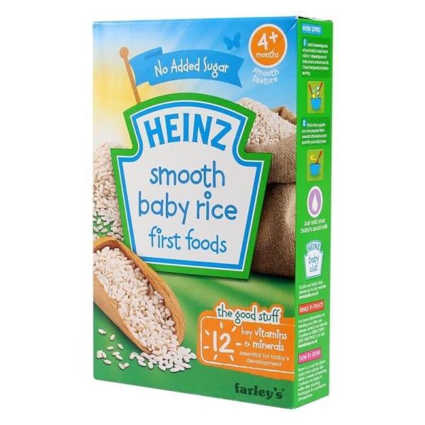 Bột ăn dặm Heinz gạo xay nhuyễn 4M