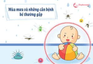 Bệnh mua mưa thường gặp ở trẻ