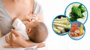 Danh sách những thực phẩm làm mất sữa mẹ sau sinh cần tránh