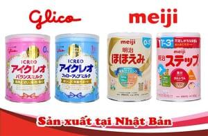 So sánh sữa Glico và Meiji Nhật Bản sữa nào tốt hơn?