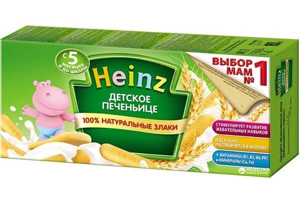Bánh ăn dặm Heinz có tốt không?