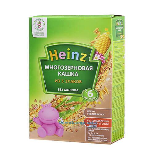 Bột ăn dặm Heinz dành cho bé từ 4 tháng tuổi ăn dặm