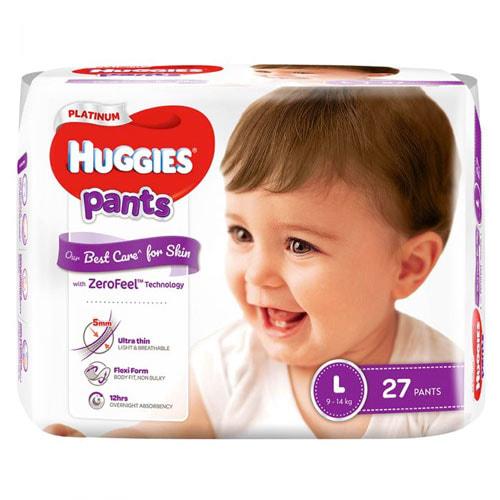 Tã quần Huggies Platinum có mấy loại